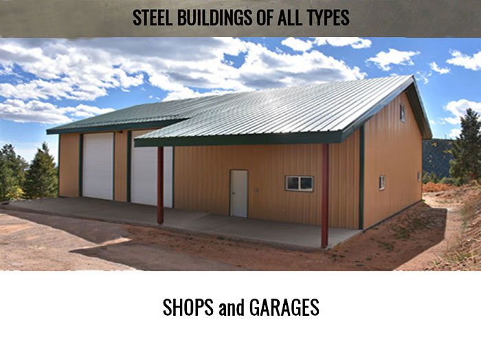 shops and garages